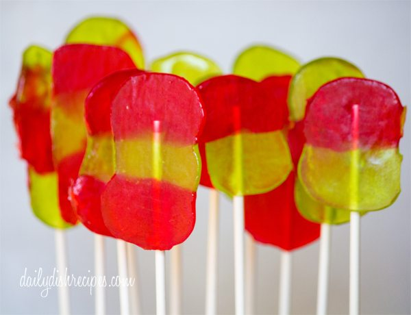 Easy & Quick Lollipops for Christmas – Jolly Rancher