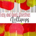 Easy and Quick Lollipops for Christmas