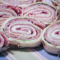 Easy Sandwich Pinwheels