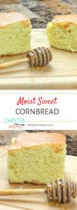 Moist Sweet Cornbread Recipe