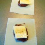 Nutella Banana Wonton – 60 Calorie Snack