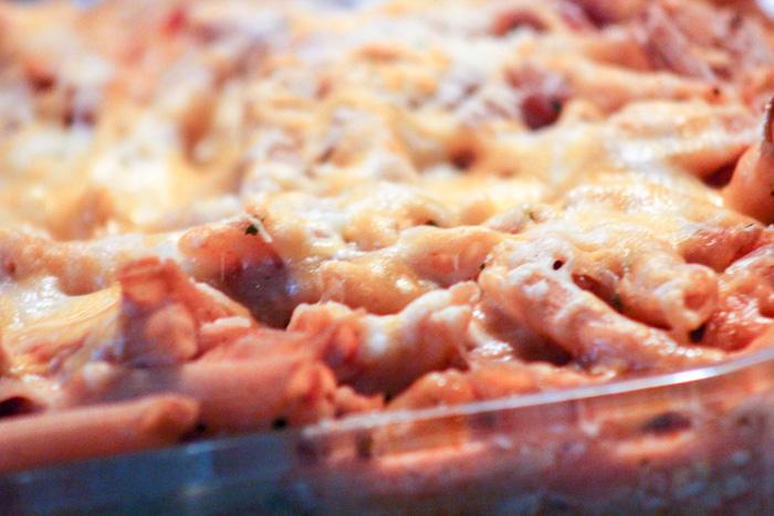 Lasagna Penne Pasta Casserole