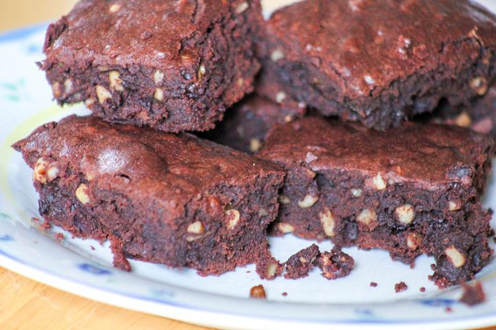 Quintuple Chocolate Brownies