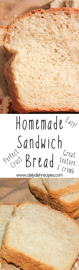 Best Homemade Sandwich Bread