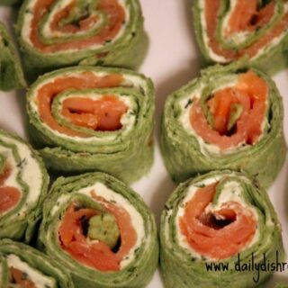Salmon Bites with Herbed Cream Cheese