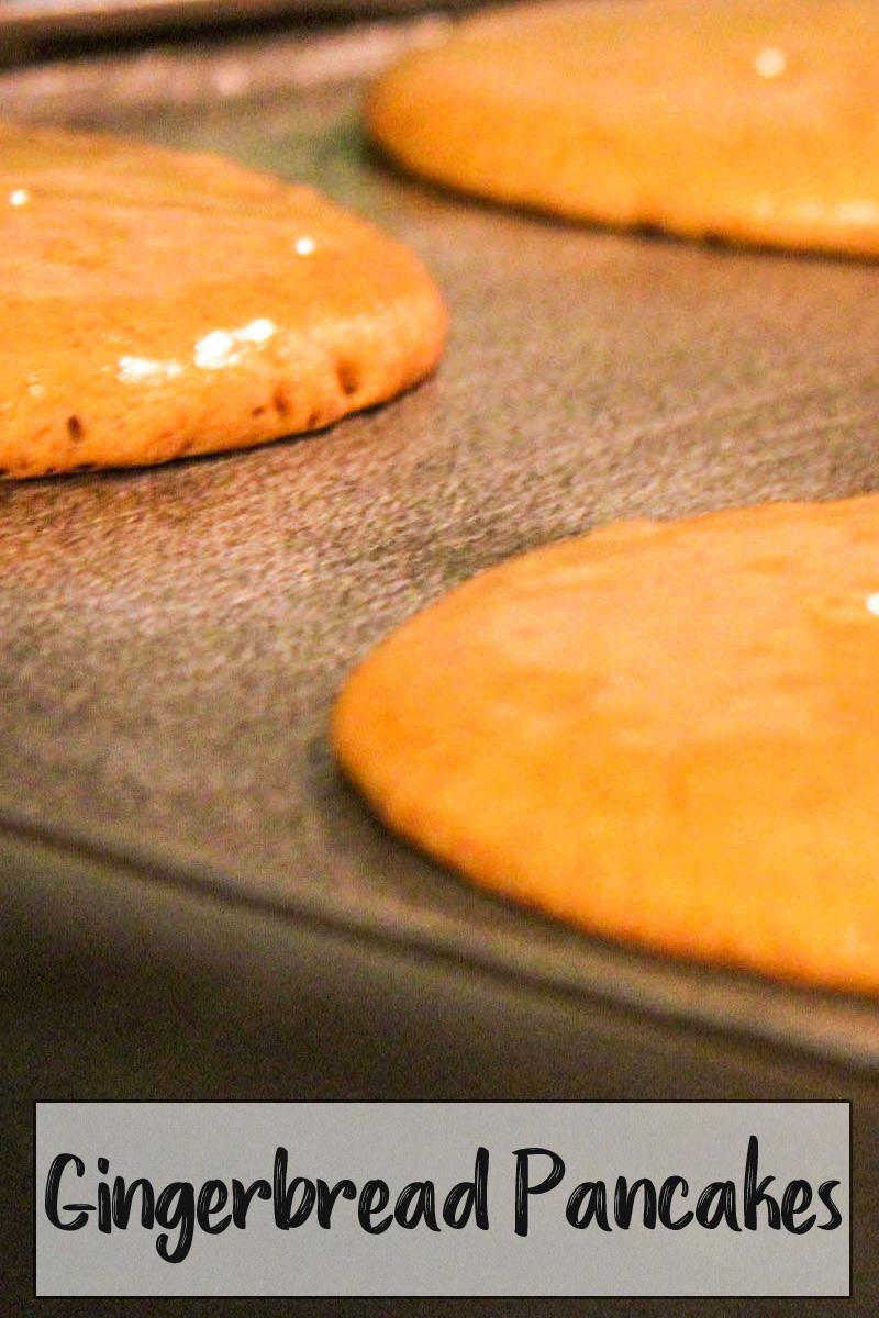 Gingerbread Pancakes PINTEREST