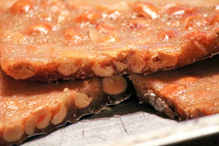 Spiced Peanut Brittle Recipe