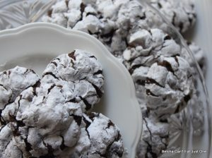 Spiced Cocoa Snowflake Cookies Recipe