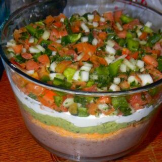 Clean Eating: Mexican Five Layer Dip