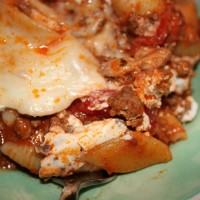 Cheese Beef and Pasta Dish