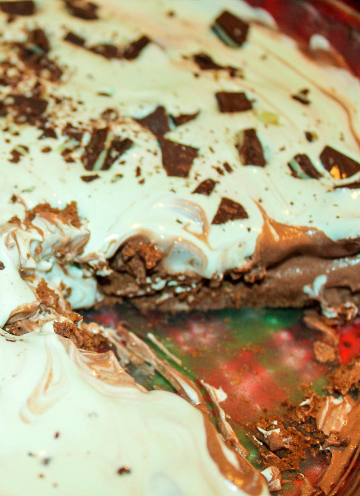 Easy Grasshopper Pie