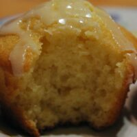 Lemon Sour Cream Muffins