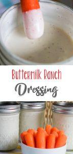 Homemade Creamy Buttermilk Ranch Dressing From Scratch