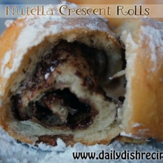 Nutella Crescent Rolls