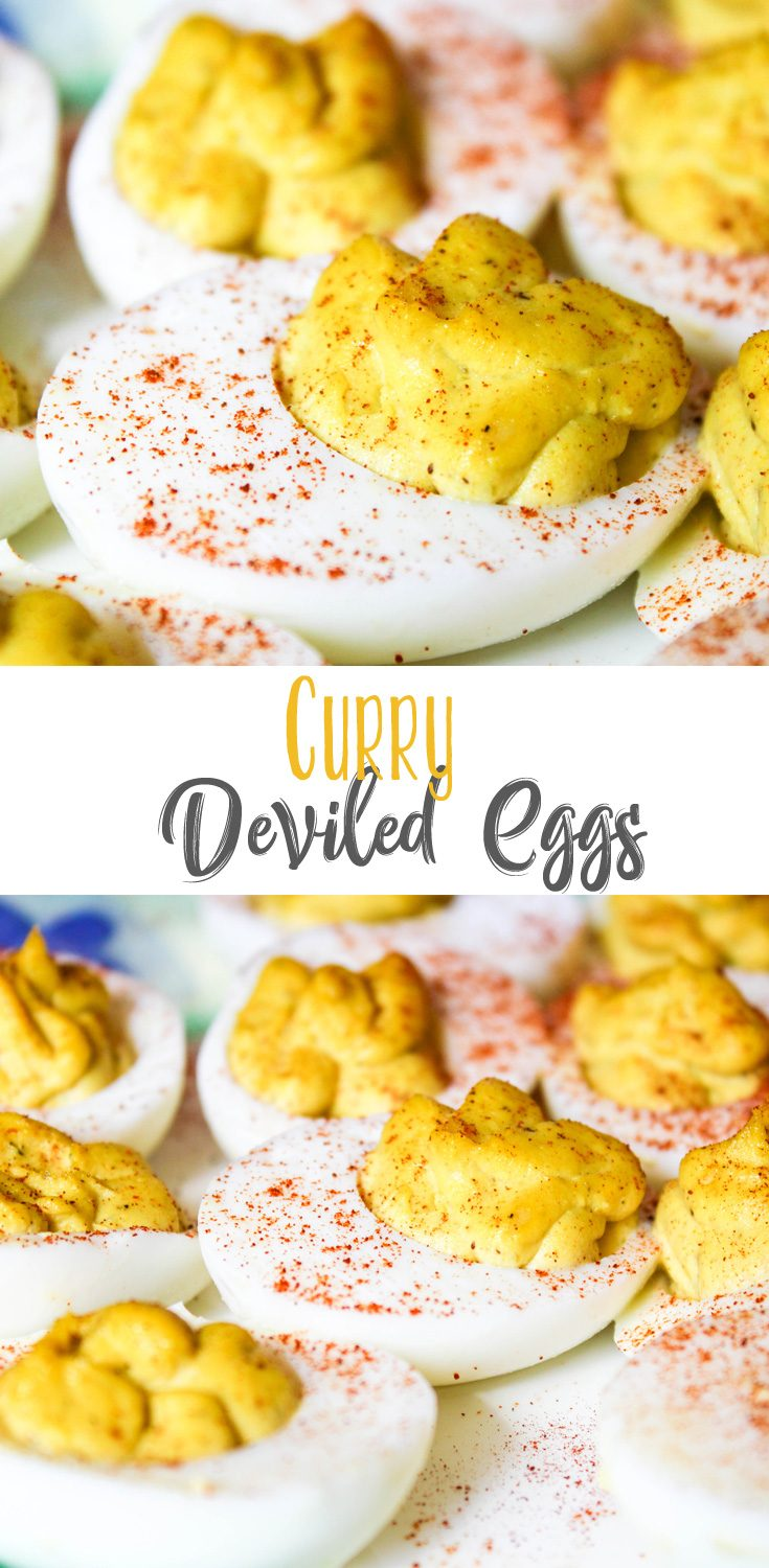 These Curry Deviled Eggs are a twist on the traditional classic, throwing a little Korean flair in for good measure. They are full of so much flavor and were gone FAST!