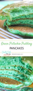 Green Pistachio Pudding Pancakes Image