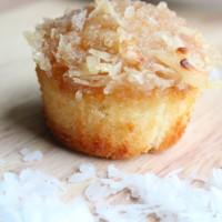 coconut caramel cupcakes