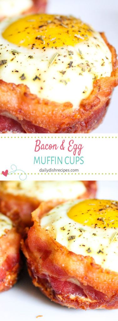 Bacon Egg Muffin Cups