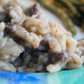 Italian Beef Risotto