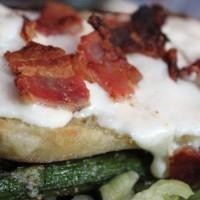 ciabatta bacon pizza