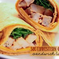 Southwestern Chipotle Sandwich Wraps