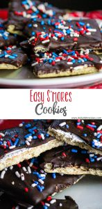 Easy S'mores Cookies PIN