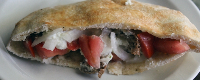 Gyros With Tzatziki Sauce Easy And Delicious