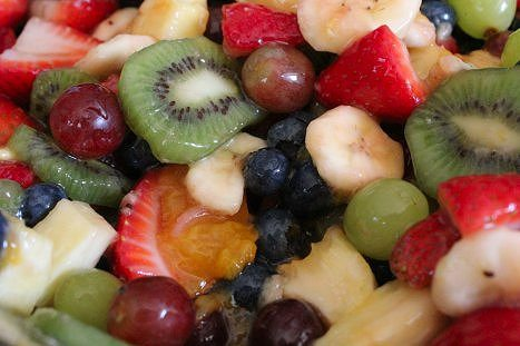 Easy Summer Vanilla Fruit Salad