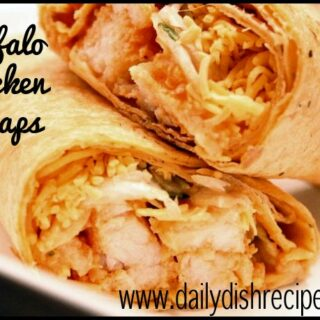Buffalo Chicken Sandwich Wraps