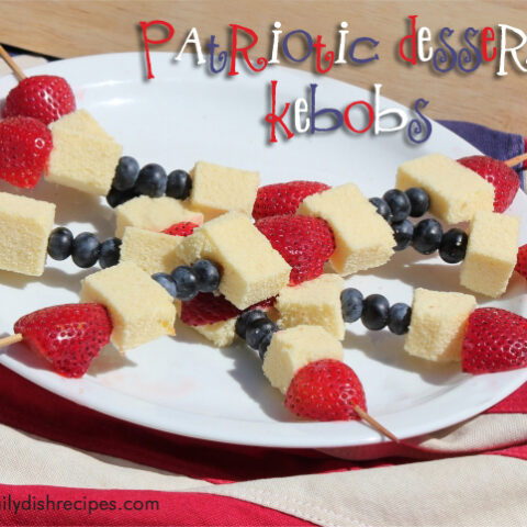 4th of July Recipes: Patriotic Dessert Skewers