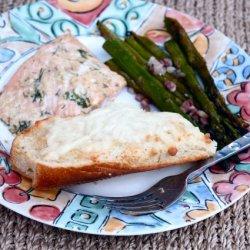 Olive Oil & Sea Salt Roasted Salmon and Asparagus