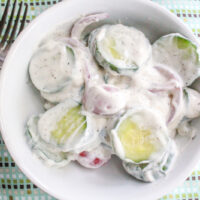 Creamy Cucumber Salad {3+ Ways}