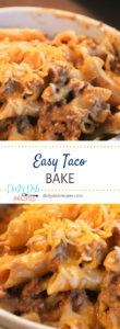 Easy Taco Bake