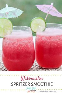 Watermelon Spritzer Smoothie