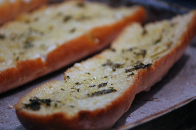 Garlic Bread with Fresh Herbs