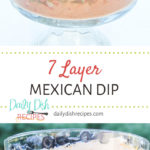 7 Layer Mexican Dip Recipe Pinterest