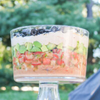 7 Layer Dip for Mexican Fiesta