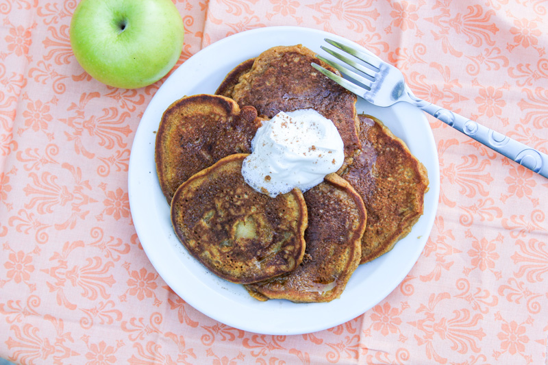 Apple Pumpkin Pancakes