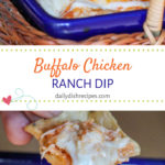 Buffalo Chicken Dip with Ranch