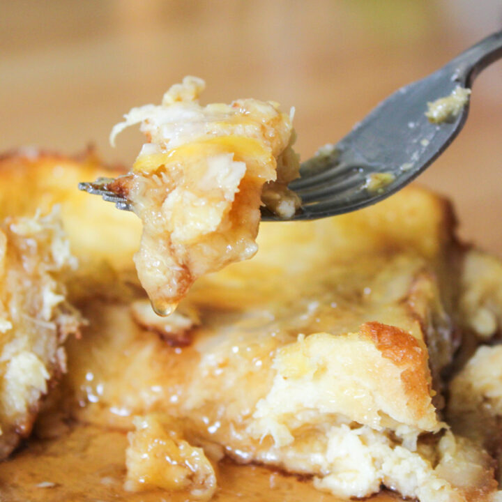 Pineapple Coconut Rum French Toast