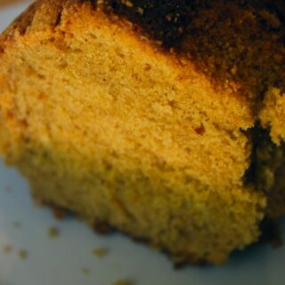 Pumpkin Biscoff (or Nutella) Pound Cake