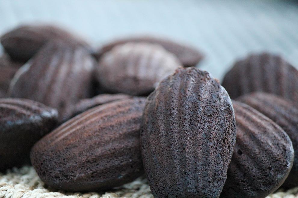 Dark Chocolate Madeleines Daily Dish Recipes