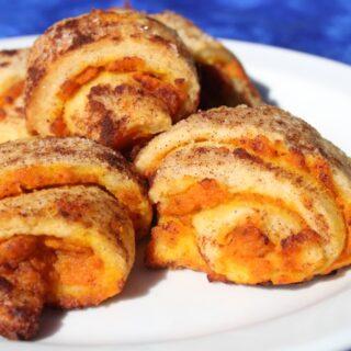 Pumpkin Pie Roll Ups Recipe