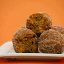 Pumpkin Puff Donut Bites