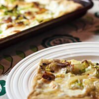 Brussels Sprouts Pizza – Guest Post from Girl in the Little Red Kitchen