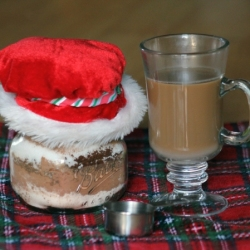 Gifts in a Jar - Gingerbread Spice Mocha Mix