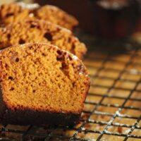 Spicy Gingerbread with a Mocha Glaze