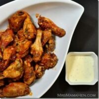 Baked Hot Wings by The Foodie Army Wife