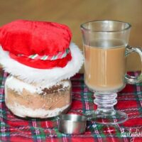 Gifts in a Jar – Gingerbread Spice Mocha Coffee Mix