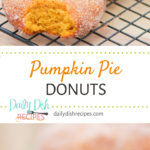 Pumpkin Pie Donuts